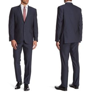 KENNETH COLE REACTION Two Button Slim Fit Suit